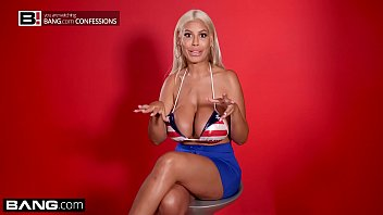 Bridgette B Celebrates The 4th With Sparklers, Dick, And Sex!